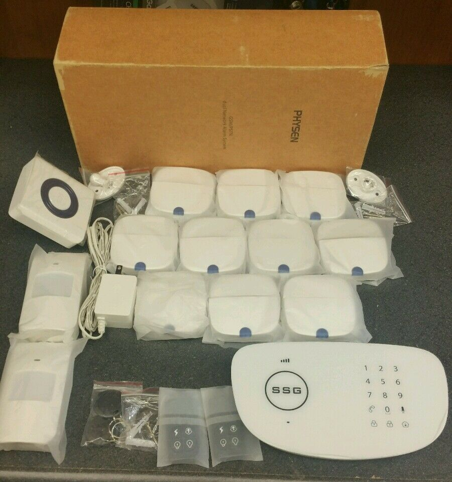 Physen GSM PSTN Dual Network Alarm System kit