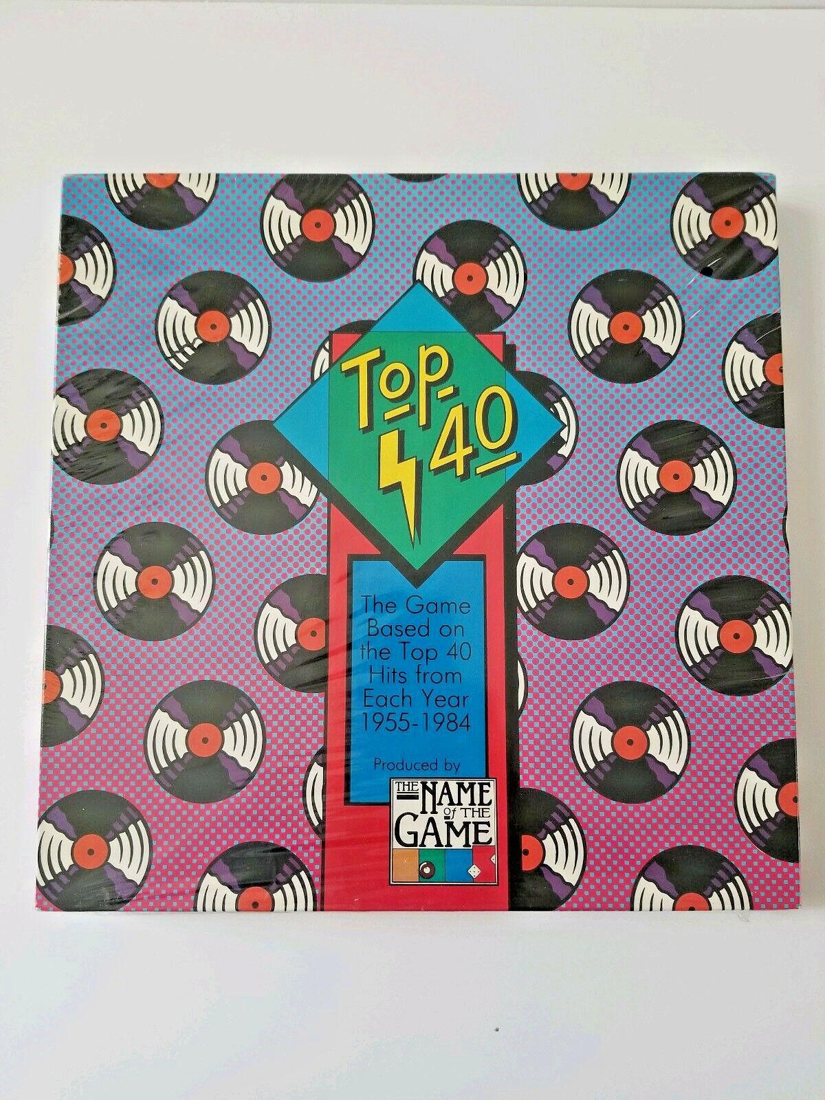 Top - 40 - musik - quiz - spiel vintage new in box selten