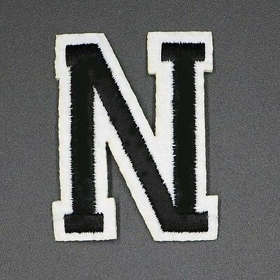 EMBROIDERED ALPHABET LETTERS PATCH, 2