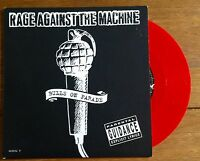 """Rage Against The Machine - Bulls On Parade  7"""" Red Vinyl"""
