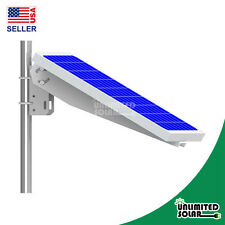 Unlimited Solar Universal Solar Panel Single Arm Pole Mount for 10W, 20W, 30W