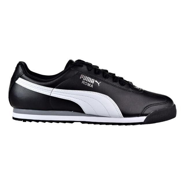 Shoes Black-White-Puma Sliver 353572-11