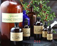 Organic Wild Lettuce Tincture Liquid Extract Natural Full Spectrum whole Herb