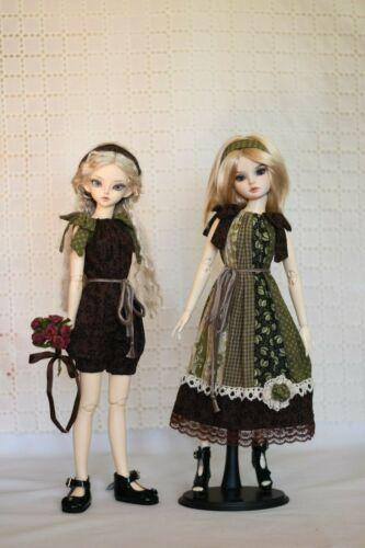PDF Doll Clothes Pattern For Fairyland Minifee Ellowyne Slim 1//4 MSD BJD