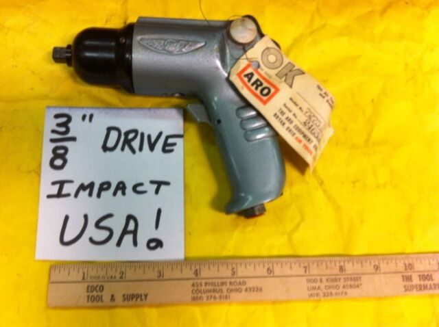 Aro Air Impact Wrench 3 8  Drive Industrial Heavy Duty