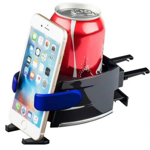 2in1 Car Air Vent Cup Bottle Holder Car Drink Stand with Cell phone Mount Holder