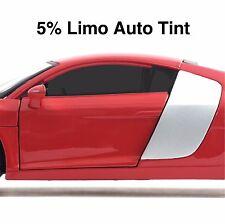CAR WINDOW TINT FILM - LIMO BLACK AUTO TINTING - 50cm Width Roll