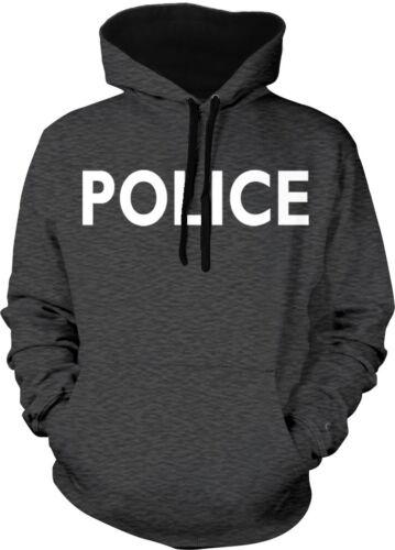 Police Halloween Costume Security Humor Funny Joke Meme 2-tone Hoodie Pullover
