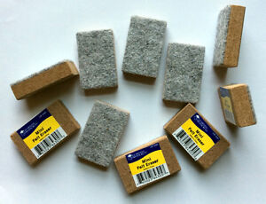 Mini Felt Erasers,29 erasers, each 2 x 1.25 x 5 inches  Learning Resources X4305