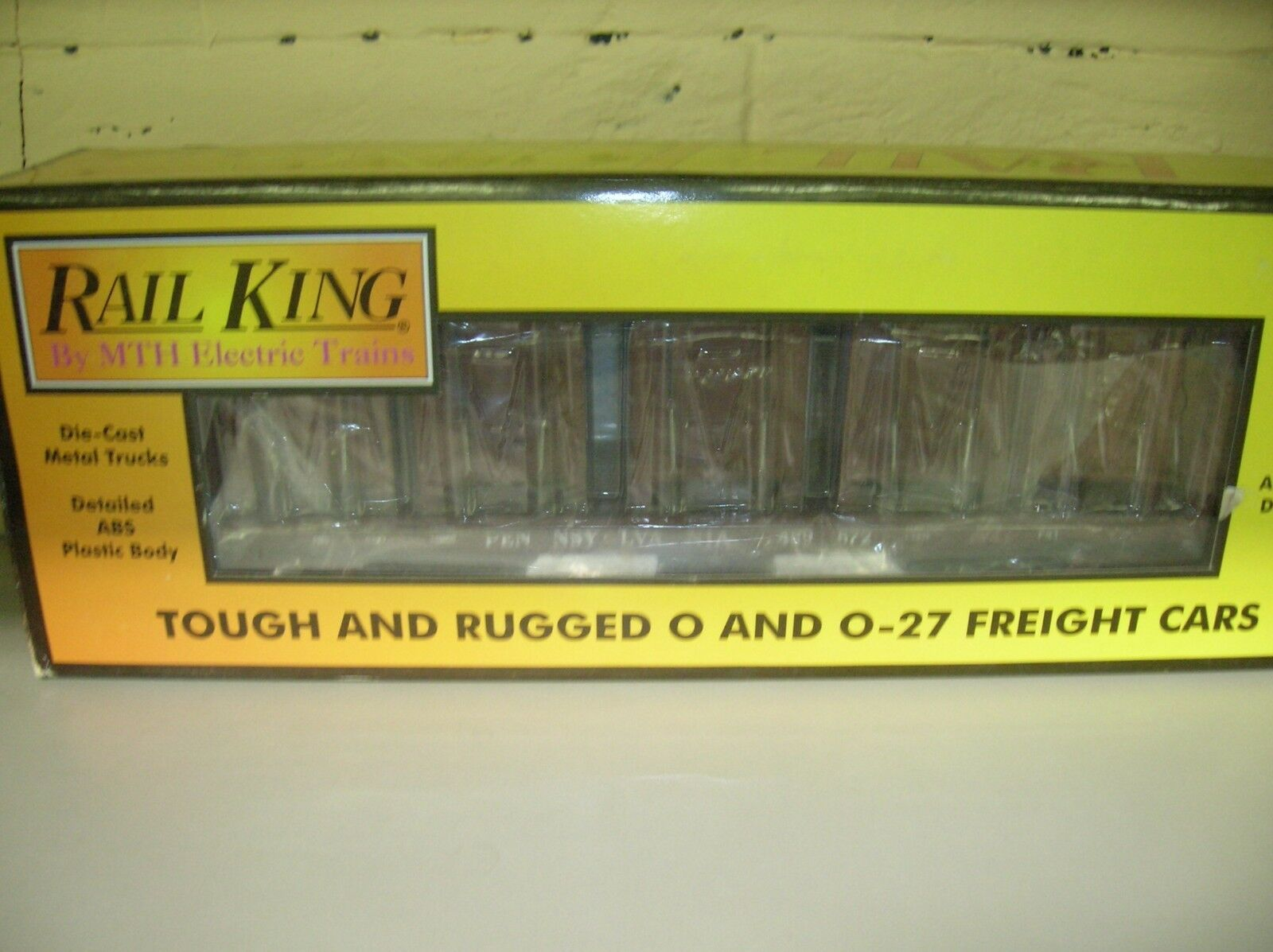 MTH 30-76472 PRR FLATCAR W BULKHEADS AND LCL CONTAINERS - MAKE OFFERS