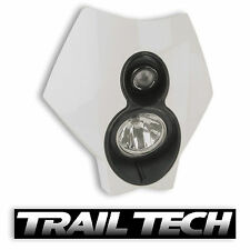 TrailTech x2 Dual Sport Halogen HeadLight White MX Dirtbike Moto DOT Husqvarna