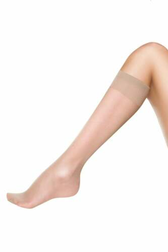 Pretty Polly Silver Fresh Comfort Top Knee Highs 3 Pair Pack