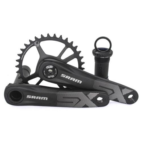 SRAM 12 Speed SX EAGLE DUB 34T Steel Chainring 170mm 175mm MTB Bicycle Crankset