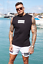 Jameson-Carter-Mens-JC-Designer-Cotton-Slim-Fit-Sleeveles-Tee-Vest-T-Shirt-Top thumbnail 2