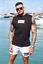 Jameson Carter Mens JC Designer Cotton Slim Fit Sleeveles Tee Vest T Shirt Top