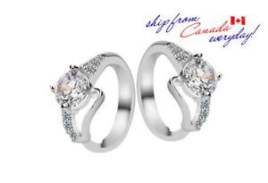 18K-GP-Elegant-Stud-Earring-Party-Wedding-Jewelry