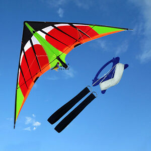 NEW-1-8m-5-9ft-Swifts-stunt-Power-Kite-outdoor-Sport-fun-Toys-novelty-dual-line