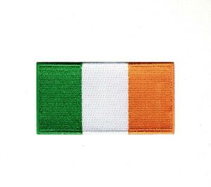 Ireland National Country Flag Iron Sew on Embroidered Patch