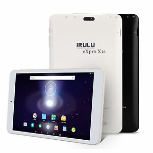 "iRULU eXpro 1S Tablet 8"" GMS Android 5.1 Lollipop 16GB Quad Core 800*1280 IPS HD"