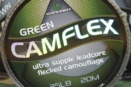 All Sizes /& Colours Carp Fishing Hooklink Details about  /Gardner Camflex Leadcore