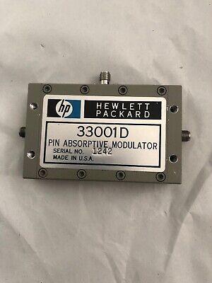 1pc Hewlett Packard PIN ABSORPTIVE MODULATOR 33001D