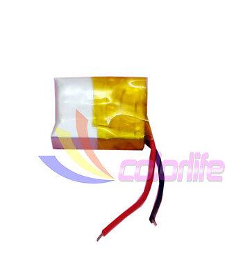 Battery Rechangeable 3.7v 041215 60mAh for Smartwatch Handset Bluetooth GPS