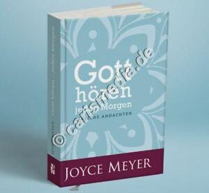 JOYCE MEYER: GOTT HÖREN - JEDEN MORGEN - Tägliche