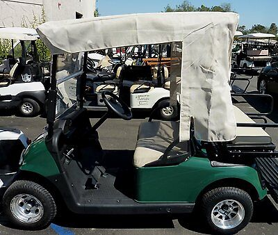 "Golf Cart Sun Shade Cover Design Exclusively for Yamaha Drive 70"" roof Beige"