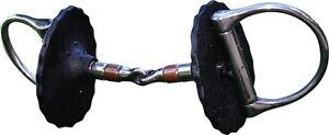 Acavallo Gel Bit Guards-Noir ou Marron-Sans pincer-Balance & stabiliser Bit-afficher le titre d`origine FQ7bATYG-07152924-165834776