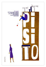 Cuban movie Poster for Spanish film El PISITO.The Little Flat.Home Decor Art