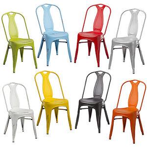 Sedie in metallo invecchiato stile vintage retr vari for Sedie vintage design