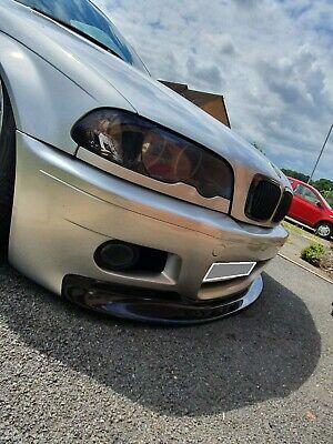 BMW 3 e46 CSL style front lip for m3 bumper replica m3
