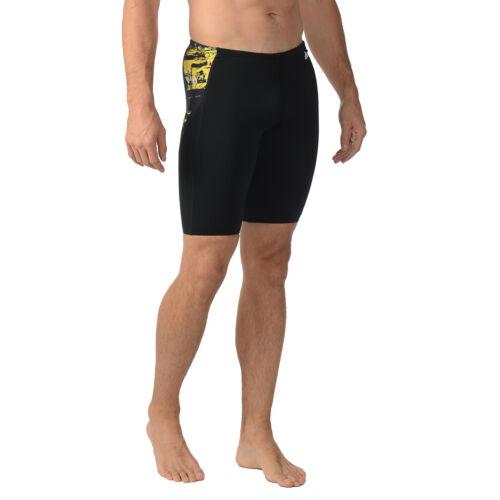 Adidas ER Jammer Swim Boxer Trunks Shorts YELLOW