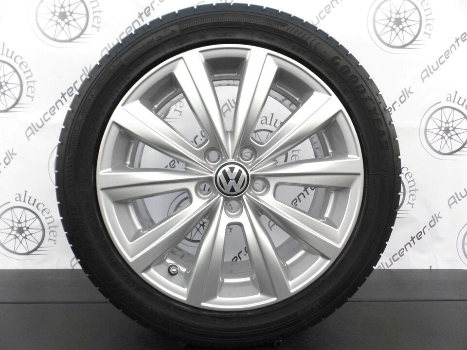 "16"" NYE ORIGINALE VW POLO FÆLGE GOODYEAR 2019"