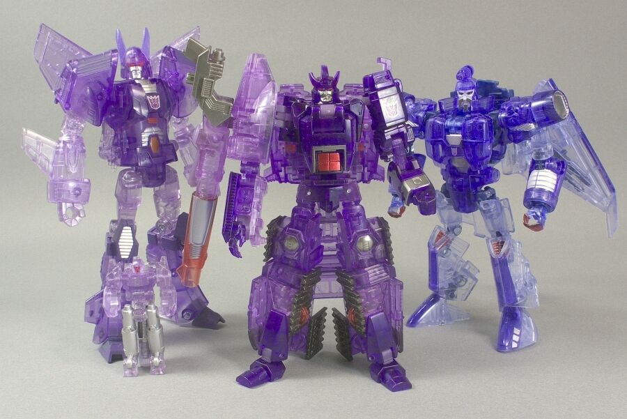 TRANSFORMERS UNITED e-HOBBY LIMITED PRODUCT 2010 EDITION DECEPTICON SET MISB