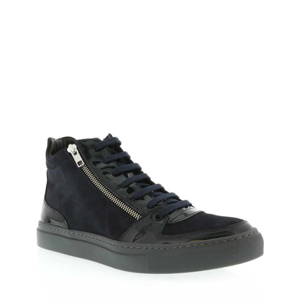 Angelo Burlinetto Burlinetto Double Zip Sneaker