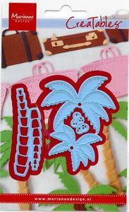 Stanz-schablonen cutting die Palm tree Palme Urlaub DIY Marianne Design LR0541