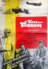 Affiche 47x67cm UN TAXI POUR TOBROUK / PER TOBRUK 1961 Lino Ventura, Aznavour #