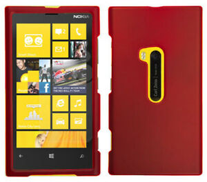 RED-RUBBERIZED-HARD-SHELL-CASE-COVER-FOR-NOKIA-LUMIA-920