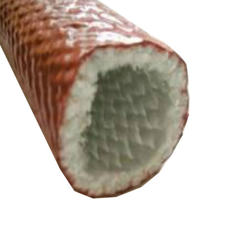 5 metre Fire Protection Fibreglass Thermo Fire Braided Sleeve 51.0mm
