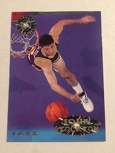 1994-95-Topps-NBA-Basketball-Card-100-John-Stockton-Utah-Jazz
