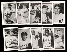 Rare 1984 RGI BASEBALL CARD COMPLETE SET (20) Mickey Mantle Babe Ruth etc