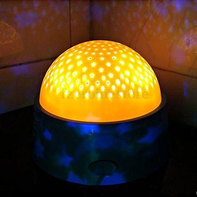 Fantastic Fairy Star LED Ceiling Projector Night Light Sky Lamp Boy Girl Bedroom