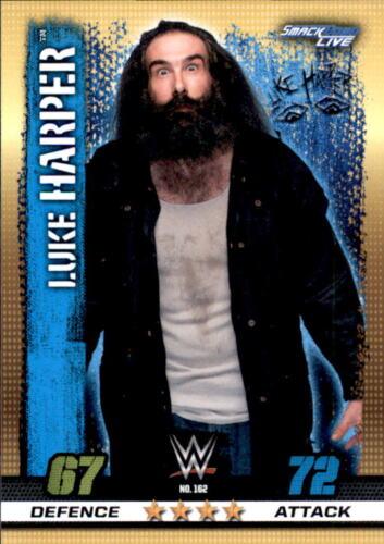 10th Edition Smackdown Live Luke Harper Nr 162 WWE Slam Attax