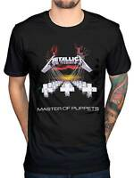 Official Metallica Master Of Puppets T-Shirt Heavy Thrash Metal Rock Band Merch