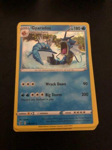 NM Pack Fresh 180 Card Bulk Lot Pokemon Rebel Clash