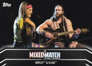 2018-Topps-WWE-Women-039-s-Division-Sammelkarte-Mixed-Match-MM-6-Bayley