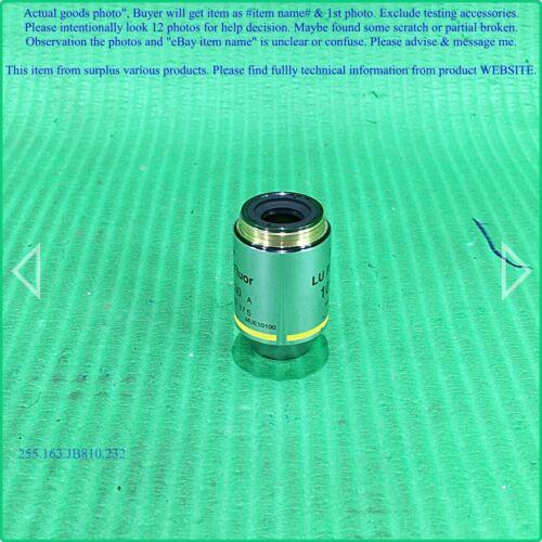 LV150 Objective Lens as photo,sn:0100,DHLtoUS,2dφm Nikon LU Plan Fluor 10x//0.30