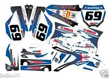 NG racing YAMAHA YZ125 YZ 125 YZ250 250 Motocross Graphic Kit 2002 - 2012