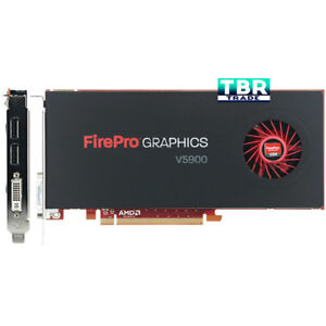 Details about New AMD Firepro V5900 2G HF FTS Video Graphics Card  (100-505732)
